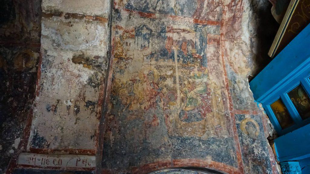 Agios Kyriakos cerkvė prie Lissos. Išlikusios freskos. Kreta, Graikija | Mano Kreta