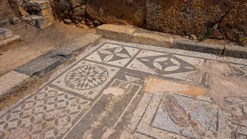 Agios Kyriakos cerkvė prie Lissos. Lissos mozaikos. Kreta, Graikija | Mano Kreta