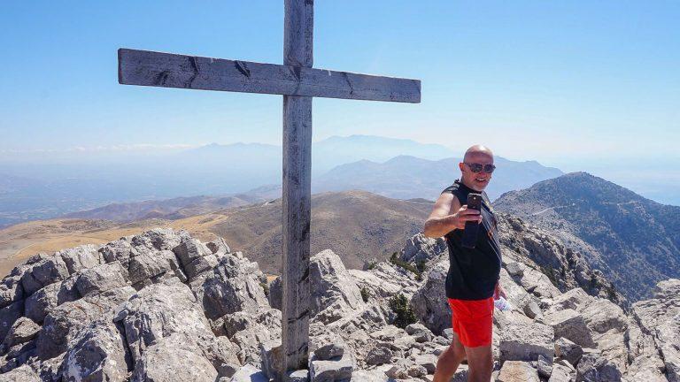 Po Asterousios kalnus – su Audre ir Gintaru. Kreta, Graikija   Mano Kreta