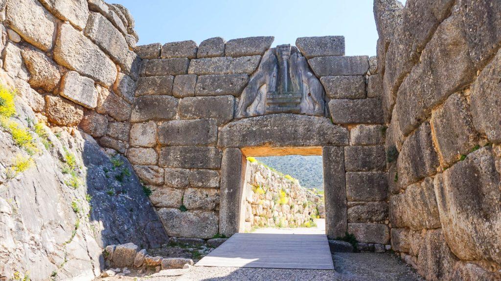 Atostogos Peloponese - V d. Mikėnų archeologinė vietovė. Graikija | Mano Kreta