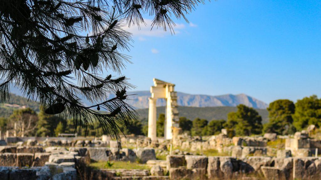 Atostogos Peloponese - V d. Epidauro archeologinė vietovė. Graikija | Mano Kreta
