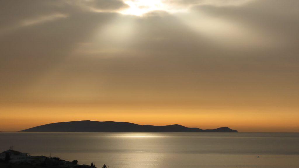 Dia – apleista Dzeuso sala priešais Heraklioną. Kreta, Graikija   Mano Kreta