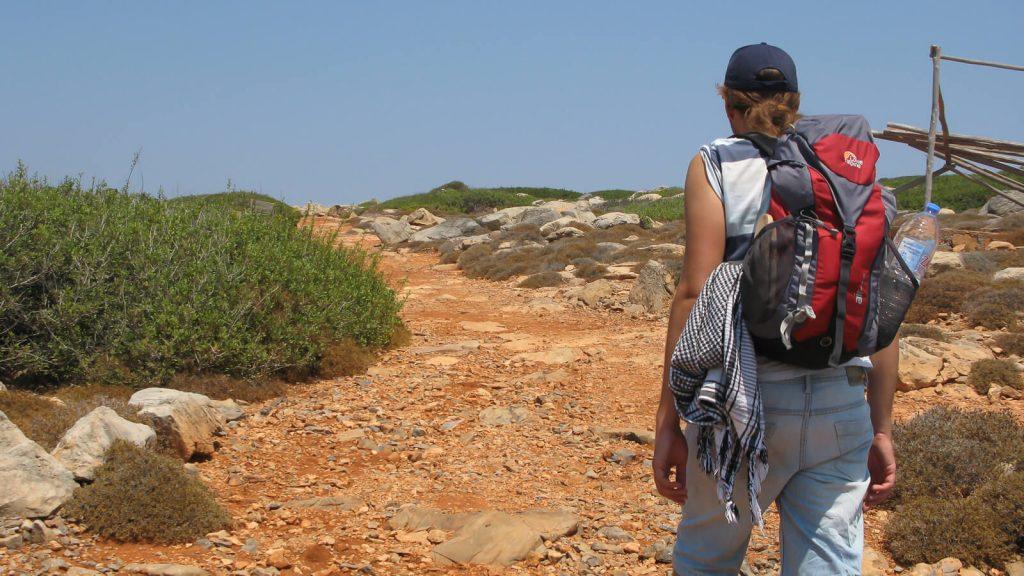Dia – apleista Dzeuso sala priešais Heraklioną. Pasivaikščiojimas saloje. Kreta, Graikija   Mano Kreta