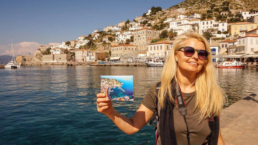 Pakeliui į Kretą – Hydros Chora. Siunčiame linkėjimus ir atviruką . Graikija | Mano Kreta