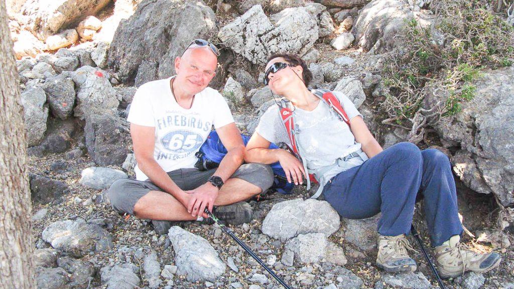 Iš Nidos į Kamares – su Audre ir Gintaru. Poilsio minutė. Kreta, Graikija   Mano Kreta
