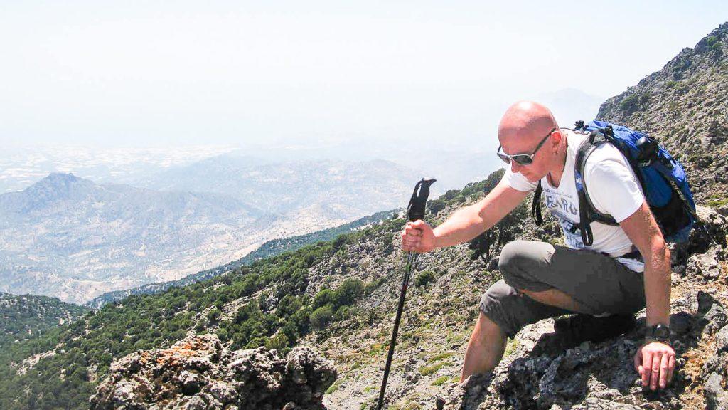Iš Nidos į Kamares – su Audre ir Gintaru. Dienos karštis. Kreta, Graikija   Mano Kreta