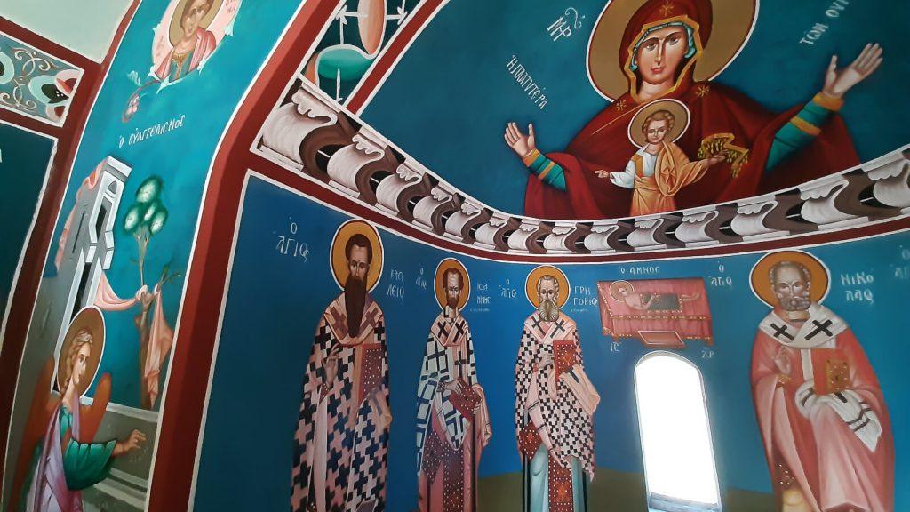 Susipažinkite – Kretos Senelis Ajos Vasilios. Agios Vasilios ikonostase. Kreta, Graikija | Mano Kreta