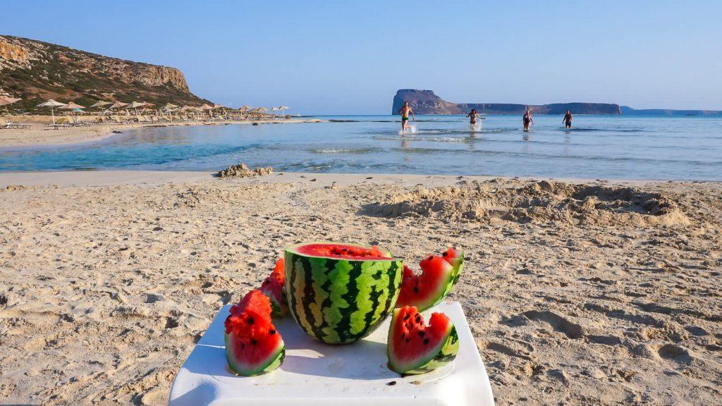 Maudynės Balos lagūnos paplūdimyje. Kreta, Graikija | Mano Kreta