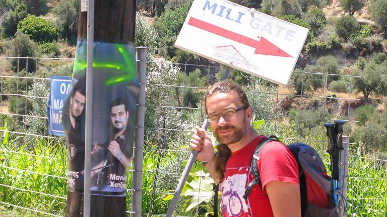 Myli tarpeklis – karštai vasaros dienai. Įėjimas į tarpeklį. Kreta, Graikija | Mano Kreta