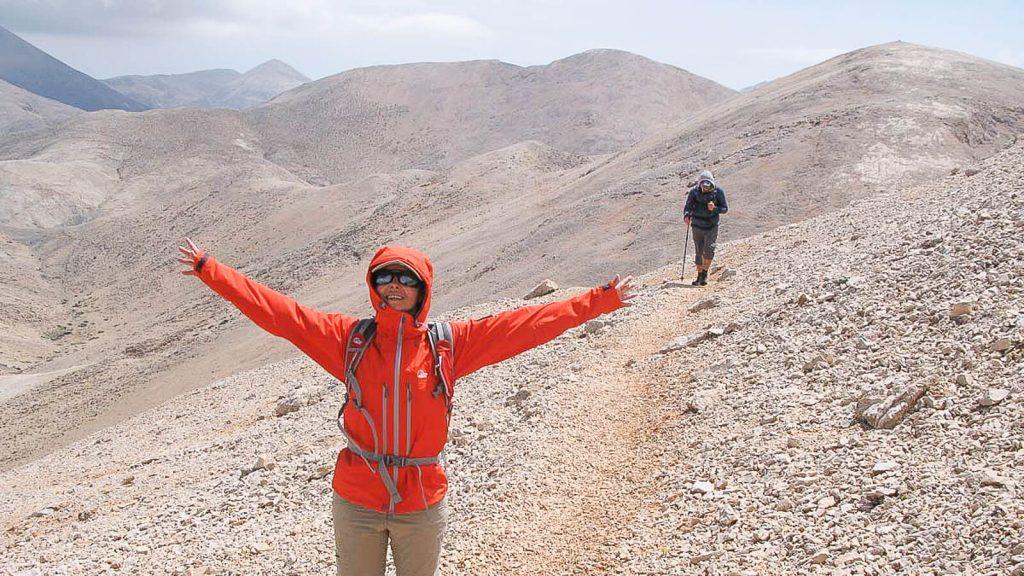 Į Pachnes viršūnę – su Audre ir Gintaru. Kylame. Kreta, Graikija | Mano Kreta