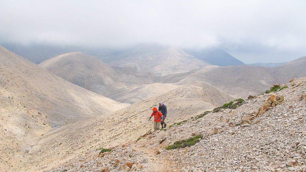 Į Pachnes viršūnę – su Audre ir Gintaru. Kreta, Graikija | Mano Kreta
